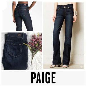 EUC Paige Hidden Hills Bootcut Jeans in Stream